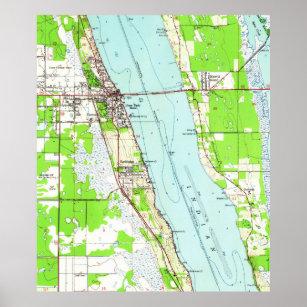 Cocoa Florida Map.Cocoa Florida Map Gifts On Zazzle