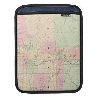 Vintage Map of Colorado (1874) iPad Sleeve