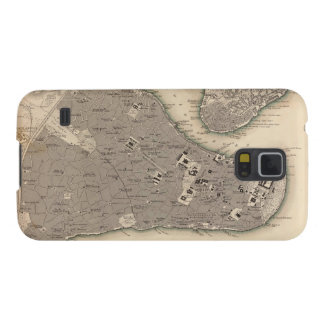 Vintage Map of Constantinople (1840) Case For Galaxy S5