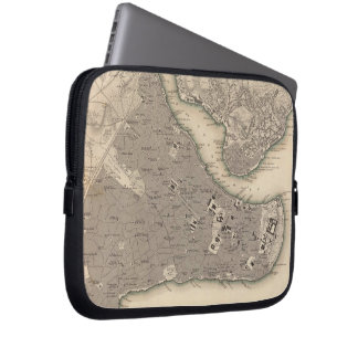 Vintage Map of Constantinople (1840) Laptop Sleeve
