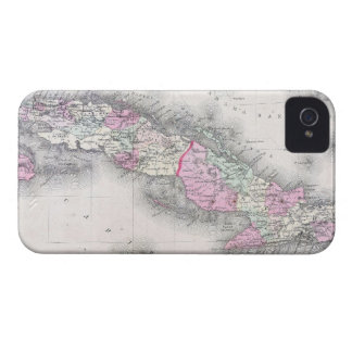 Vintage Map of Cuba (1861) iPhone 4 Case