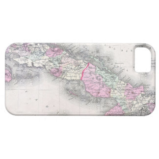 Vintage Map of Cuba (1861) iPhone 5 Cover