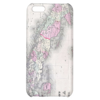 Vintage Map of Cuba (1861) Cover For iPhone 5C