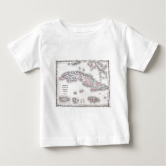 Vintage Map of Cuba (1861) Shirt