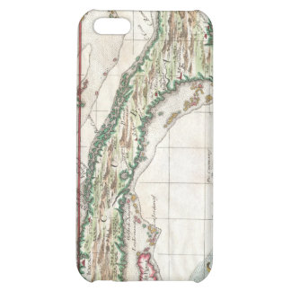 Vintage Map of Cuba and Jamaica (1763) Cover For iPhone 5C
