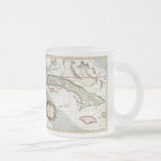 Vintage Map of Cuba and Jamaica (1763) Mug