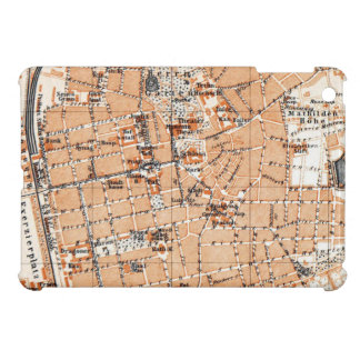 Vintage Map of Darmstadt Germany (1905) Cover For The iPad Mini