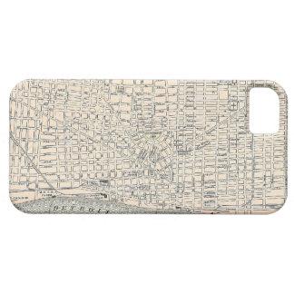 Vintage Map of Detroit (1895) iPhone SE/5/5s Case