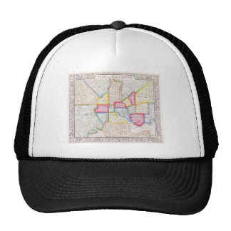 Vintage Map of Downtown Baltimore (1860) Trucker Hat
