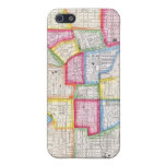 Vintage Map of Downtown Baltimore (1860) Cover For iPhone 5