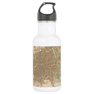Vintage Map of Dublin (1836) 18oz Water Bottle