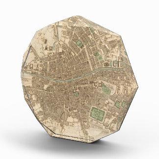 Vintage Map of Dublin 1836 Awards