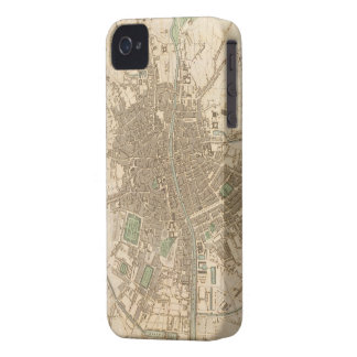 Vintage Map of Dublin (1836) iPhone 4 Cases