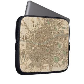Vintage Map of Dublin (1836) Laptop Sleeves