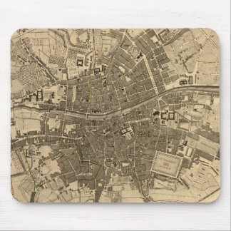 Vintage Map of Dublin Ireland (1797) Mouse Pad
