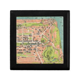 Vintage Map of Edinburgh Scotland (1935) Gift Box