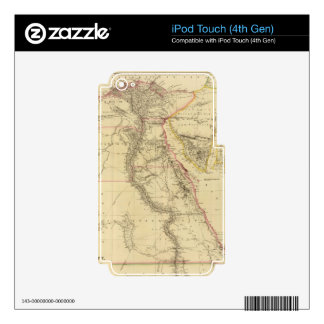 Vintage Map of Egypt (1832) iPod Touch 4G Decal