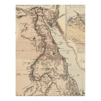 Egypt Cards Invitations Greeting Photo Cards Zazzle - Vintage map of egypt