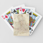 Vintage Map of England (1837) Bicycle Playing Cards