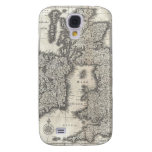 Vintage Map of England and Ireland (1631) Galaxy S4 Case
