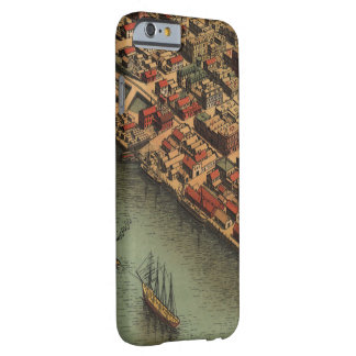 Vintage Map of Eureka California Barely There iPhone 6 Case