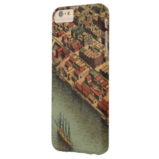 Vintage Map of Eureka California Barely There iPhone 6 Plus Case