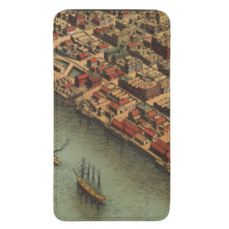 Vintage Map of Eureka California Galaxy S5 Pouch