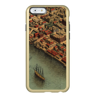 Vintage Map of Eureka California Incipio Feather® Shine iPhone 6 Case