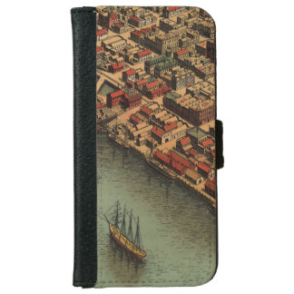 Vintage Map of Eureka California iPhone 6/6s Wallet Case
