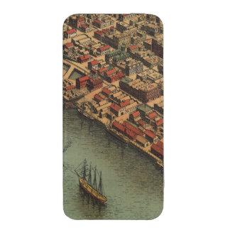Vintage Map of Eureka California iPhone SE/5/5s/5c Pouch