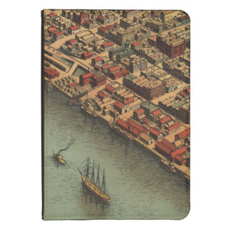 Vintage Map of Eureka California Kindle 4 Case