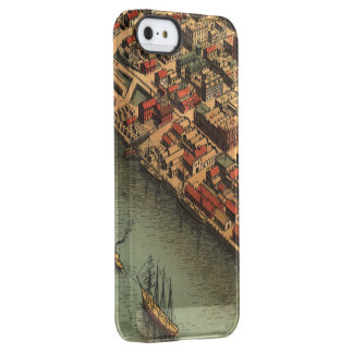 Vintage Map of Eureka California Permafrost® iPhone SE/5/5s Case