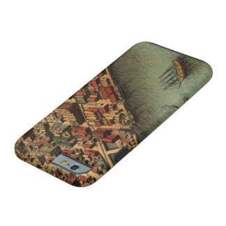 Vintage Map of Eureka California Tough iPhone 6 Case