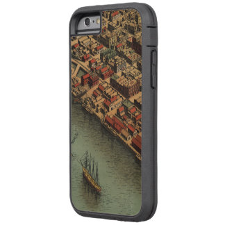 Vintage Map of Eureka California Tough Xtreme iPhone 6 Case