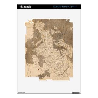 Vintage Map of Europe (1804) iPad 3 Skins