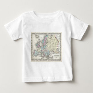 Vintage Map of Europe (1855) Shirt
