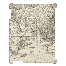 Vintage Map Of Europe and Asia Cover For The iPad 2 3 4