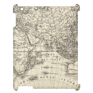 Vintage Map Of Europe and Asia iPad Case