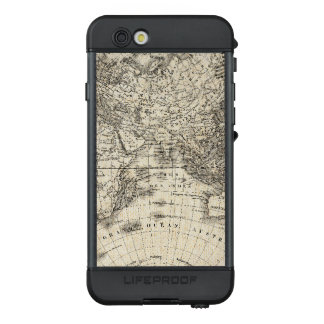 Vintage Map Of Europe and Asia LifeProof NÜÜD iPhone 6s Case