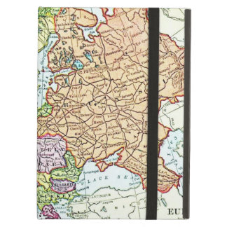 Vintage map of Europe colorful pastels Case For iPad Air