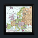 "Vintage map of Europe colorful pastels Gift Box<br><div class=""desc"">vintage,  map,  europe,  european,  colorful,  antique,  maps,  britain,  italy,  france,  germany,  holland,  mediterranean,  geography,  geographic,  atlas,  educational,  education,  travel,  traveling,  travelling,  traveler,  traveller,  cartography,  cartographer,  geographer,  poland,  ocean,  land,  sea,  england,  norway,  scandinavia,  sweden,  denmark,  netherlands,  countries,  country,  chart,  charts,  rainbow,  bright,  multicolor,  multicolored,  world,  globe,  planet,  retro,  pastel, </div>"