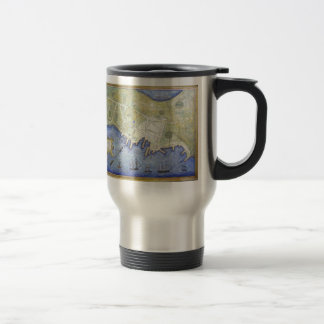Vintage Map of Falmouth Neck Maine (1775) Coffee Mugs