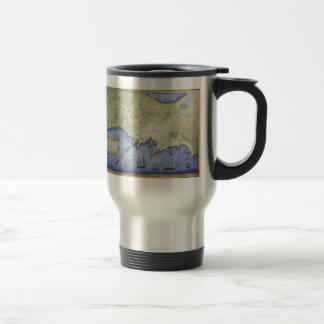 Vintage Map of Falmouth Neck Maine (1775) Coffee Mug