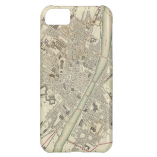 Vintage Map of Florence Italy (1835) iPhone 5C Case