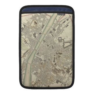 Vintage Map of Florence Italy (1835) Sleeve For MacBook Air