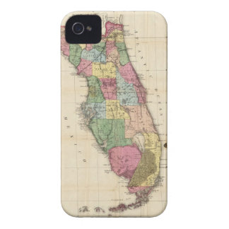 Vintage Map of Florida (1870) Case-Mate iPhone 4 Case