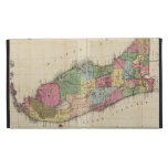Vintage Map of Florida (1870) iPad Folio Cases