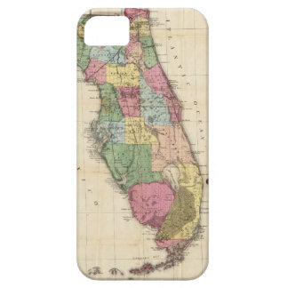 Vintage Map of Florida (1870) iPhone SE/5/5s Case