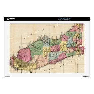Vintage Map of Florida (1870) Skin For Laptop