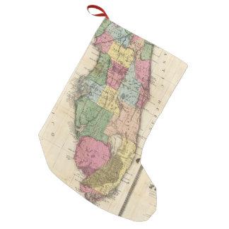 Vintage Map of Florida (1870) Small Christmas Stocking